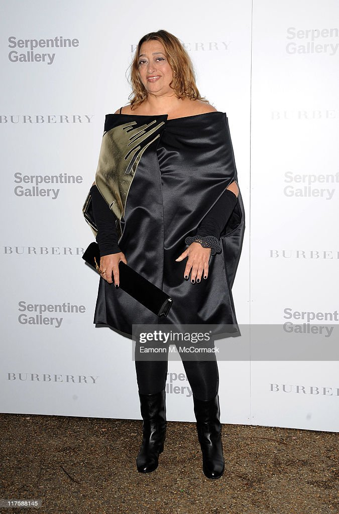 Zaha Hadid attends the Burberry Serpentine Summer Party at the Serpentine Gallery on June 28, 2011 in London, England.