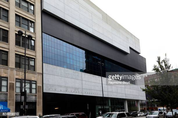 Zaha Hadid's Rosenthal Center For Contemporary Art in Cincinnati Ohio on July 22 2017 MANDATORY MENTION OF THE ARTIST UPON PUBLICATION RESTRICTED TO...