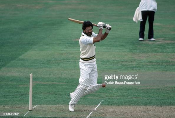 Zaheer Abbas batting for Pakistan during his innings of 75 in the 2nd Test match between England and Pakistan at Lord's Cricket Ground London 12th...
