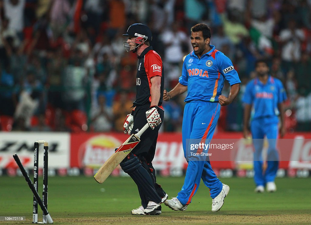 India v England: Group B - 2011 ICC World Cup : News Photo