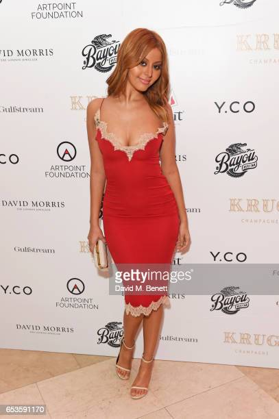 Zahia Dehar attends the Artpoint Foundation gala screening of 'The Legend About Valentina' a specially commissioned short film on the life of Dr...