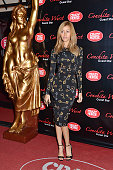 Zahia Dehar attends the Conchita Wurst Crazy Horse Show Red Carpet Arrivals In Paris At the Crazy Horse Saloon on November 9 2014 in Paris France