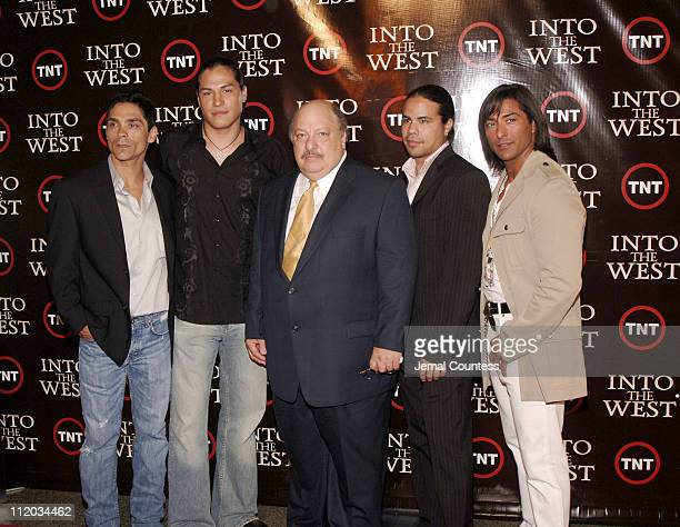 Zahn McClarnon Eddie Spears William Mastrosimone George Leach and Jay Tavare