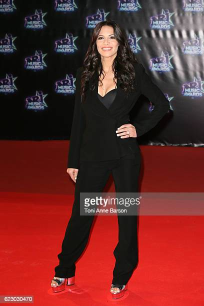 Zaho arrives at the 18th NRJ Music Awards at the Palais des Festivals on November 12 2016 in Cannes France