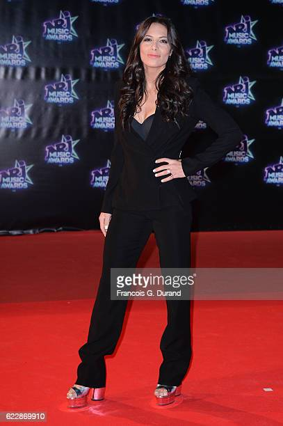 Zaho attends the 18th NRJ Music Awards at Palais des Festivals on November 12 2016 in Cannes France