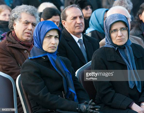Zahra Merikhi during Funeral MohammadAli Jaberzadeh NCRI in Paris France on 18 February 2017 MohammadAli Jaberzadeh one of the most seasoned and...