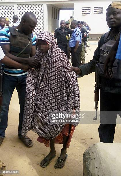Zahra'u Babangida a 14yearold Nigerian girl arrested with explosives strapped to her body in Kano on December 10 following a double suicide bombing...