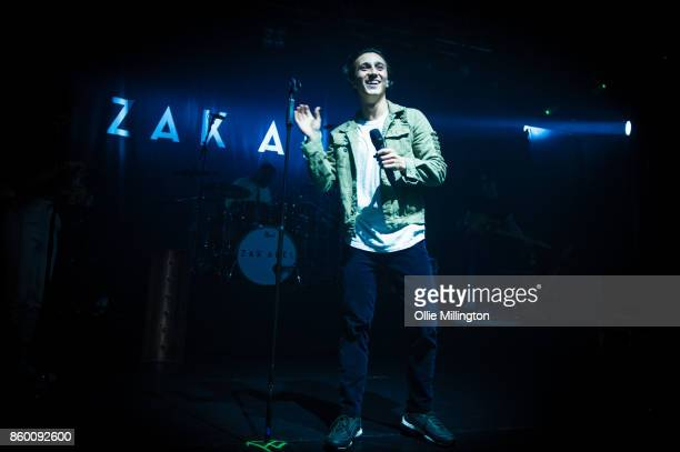 Zak Abel performs onstage at KOKO on October 10 2017 in London England