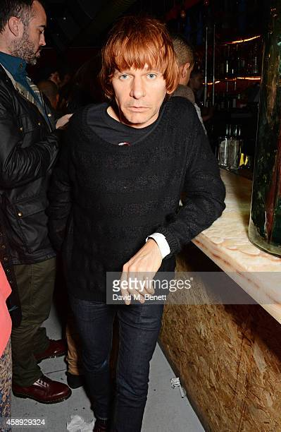 Zak Starkey attends the launch of Same Old Sean's new EP 'Reckless' at Cafe KaiZen on November 13 2014 in London England