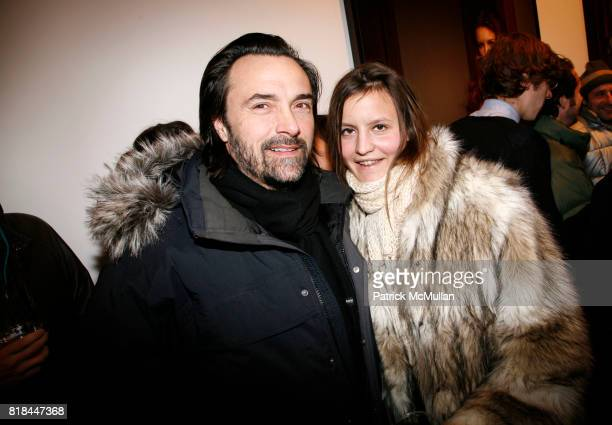 Zak Vallente and Allison Boda attend ERWIN OLAF Opening Reception at Hasted Hunt Kraeutler on January 28 2010 in New York