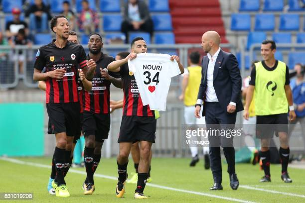 Zakaria Azzouzi of Excelsior Abdelhak Nouri during the Dutch Eredivisie match between Willem II Tilburg and sbv Excelsior at Koning Willem II stadium...