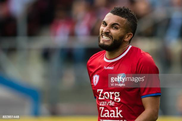 Zakaria Labyad of FC Utrecht during the UEFA Europa League fourth round qualifying first leg match between FC Utrecht and FK Zenit St Petersburg at...