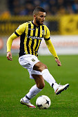 Zakaria Labyad of Vitesse in action during the Dutch Eredivisie match between Vitesse Arnhem and AZ Alkmaar held at Gelredome on March 13 2015 in...