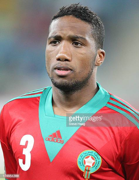 Zakarya Bergdich during the 2013 African Cup of Nations match between Morocco and Cape Verde at Moses Mahbida Stadium on January 23 2013 in Durban...