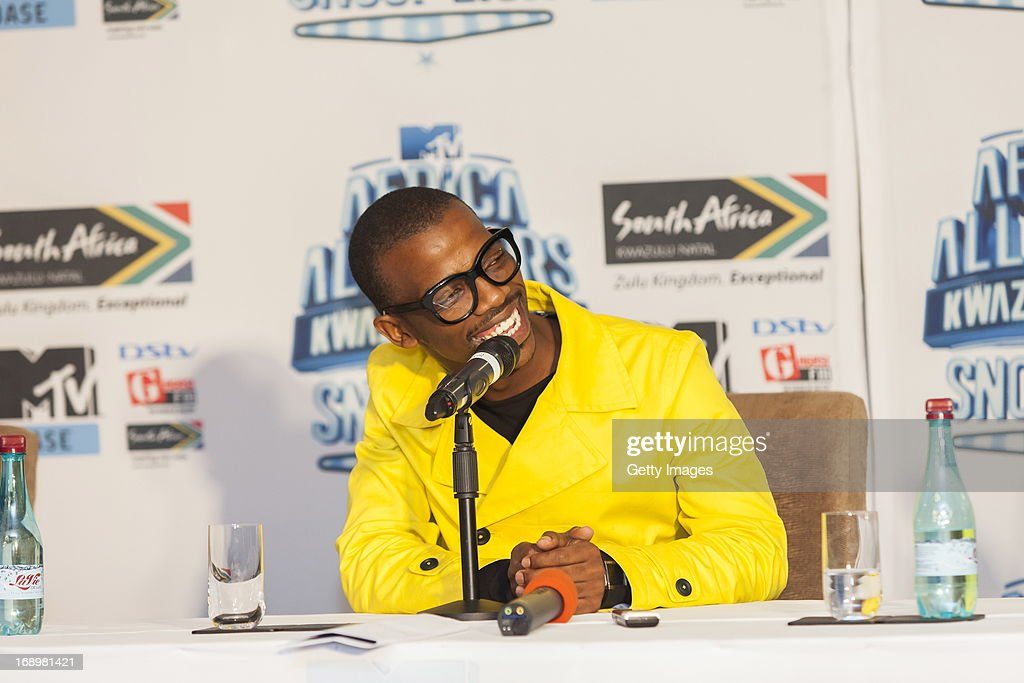Zakes Bantwini at the press conference for the MTV Africa All Stars Concert on May17, 2013 in Durban, South Africa. Snoop Dog or Snoop Lion as he is now also known will be the headline act for the Concert.