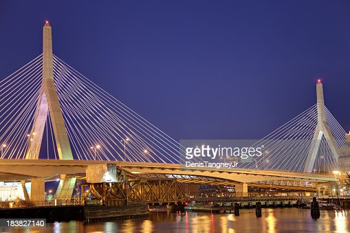 Zakim Bunker Hill Bridge