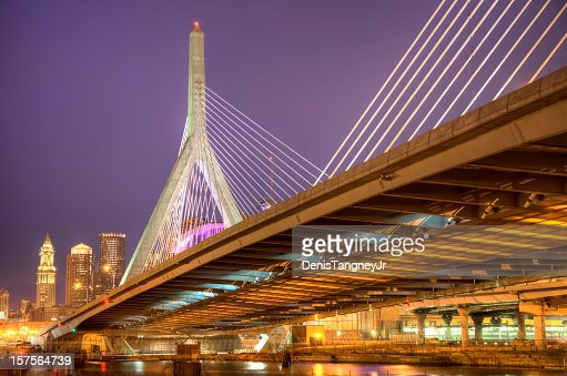 Zakim Bunker Hill Memorial Bridge Boston
