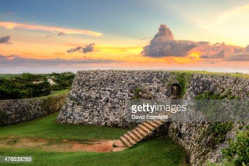 Zakimi Castle Sunset
