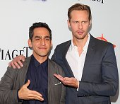 Zal Batmanglij and Alexander Skarsgard attend 'The East' Los Angeles Premiere held at ArcLight Hollywood on May 28 2013 in Hollywood California