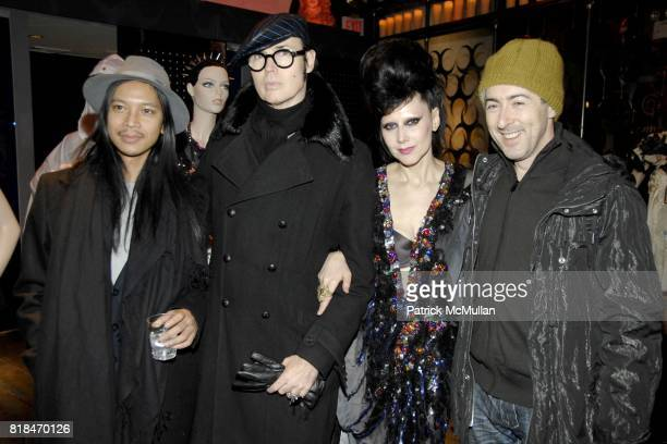 Zaldy Patrick McDonald Susanne Bartch and Alan Cumming attend SUSANNE BARTCH and DAVID BARTON host the Launch of REEM at David Barton Gym on January...