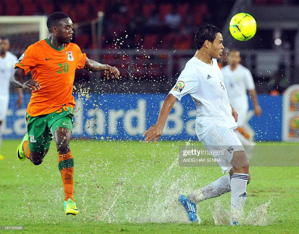 Libya v Zambia African Nations Cup s and