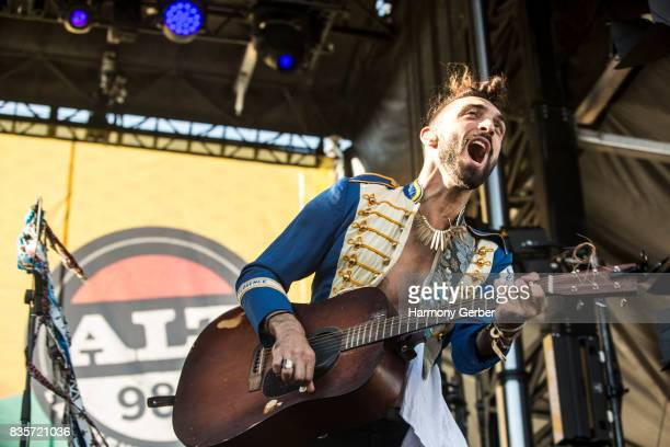 Zambricki Li of Magic Giant performs at Alt 987 Summer Camp at Queen Mary Events Park on August 19 2017 in Long Beach California