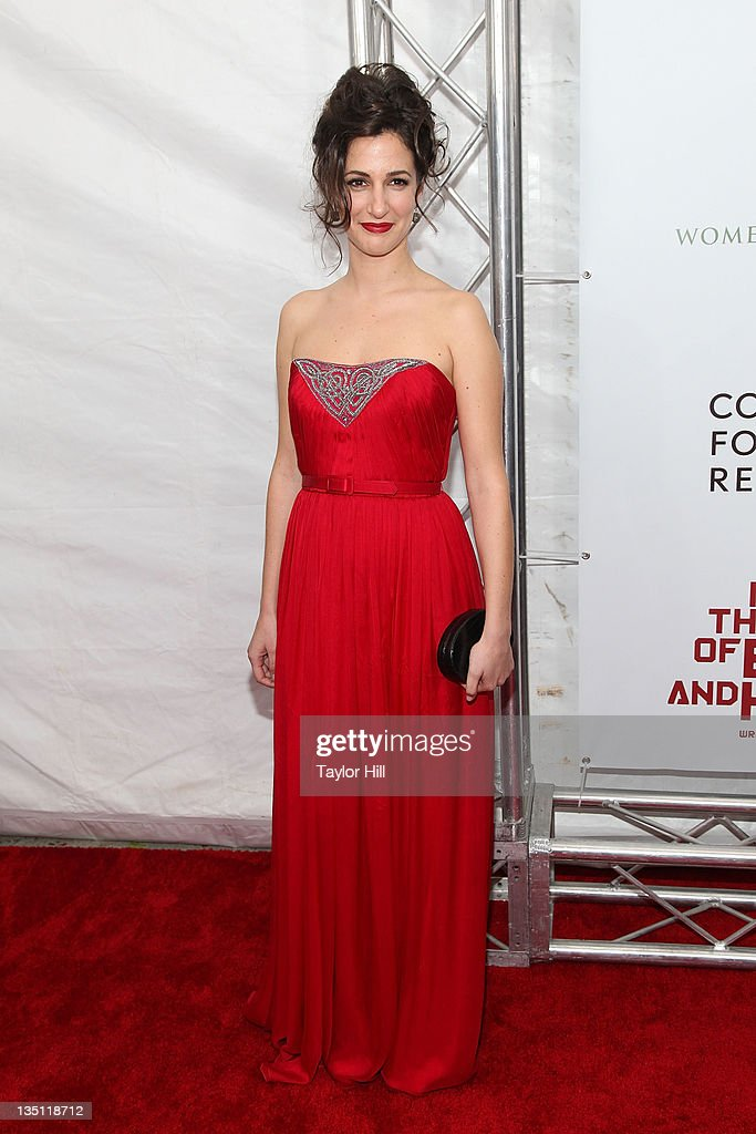 Zana Marjanovic attends the premiere of 'In the Land of Blood and Honey' at the School of Visual Arts on December 5, 2011 in New York City.
