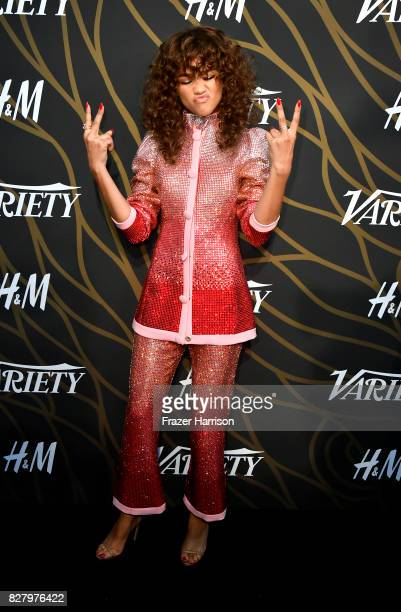 Zandaya attends Variety Power Of Young Hollywood at TAO Hollywood on August 8 2017 in Los Angeles California
