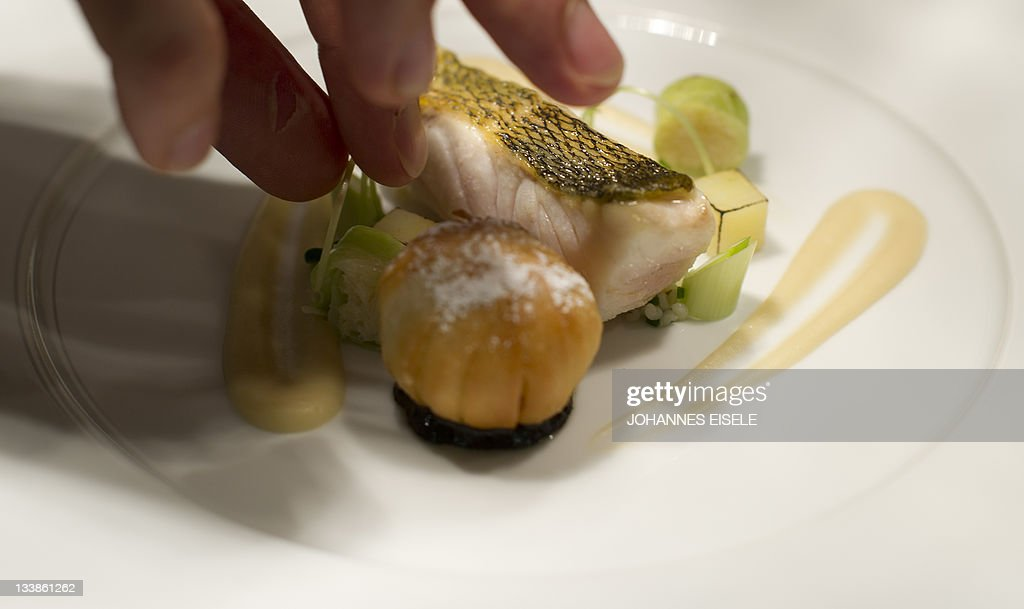 A Zander Dish Is Pictured In The Kitchen Of The Lorenz Adlon Esszimmer  Restaurant On November