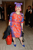 Zandra Rhodes attends The 59th Women of the Year Lunch at the InterContinental Park Lane Hotel on October 13 2014 in London England
