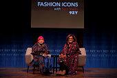 NY: Designer Zandra Rhodes In Conversation With Fern Mallis