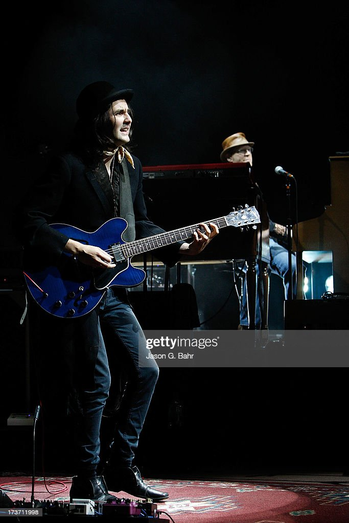 Zane Carney performs at Red Rocks Amphitheatre on July 16, 2013 in Morrison, Colorado.