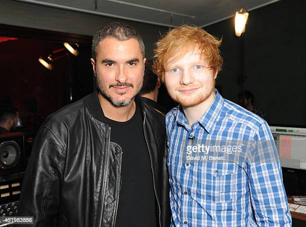 Zane Lowe and Ed Sheeran attend Beats Present Sound Symposium on July 10 2014 in London England