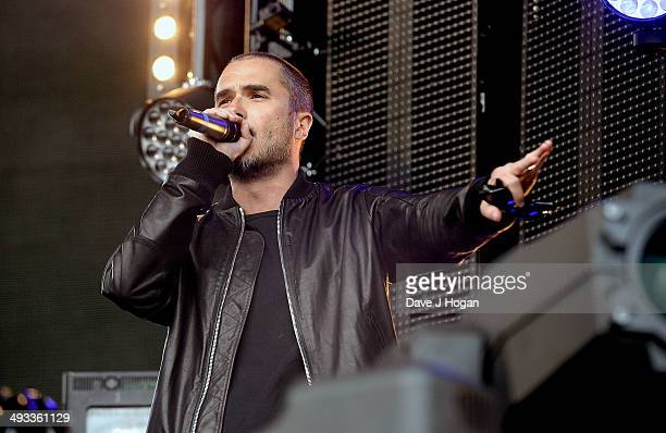 Zane Lowe at Radio 1's Big Weekend in George Square on May 23 2014 in Glasgow Scotland