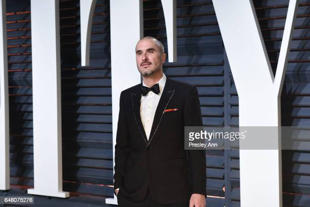 Zane Lowe attends the 2017 Vanity Fair Oscar Party hosted by Graydon Carter at Wallis Annenberg Center for the Performing Arts on February 26 2017 in...