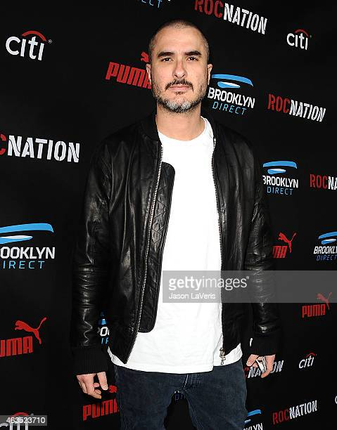 Zane Lowe attends the Roc Nation Grammy brunch on February 7 2015 in Beverly Hills California