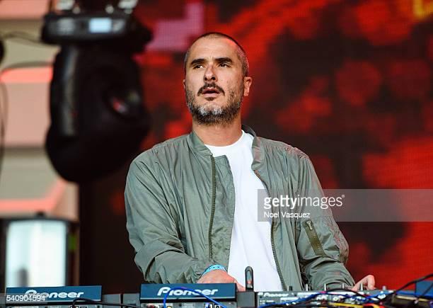 Zane Lowe performs at Doritos #MixArcade Day 3 at LA LIVE on June 16 2016 in Los Angeles California