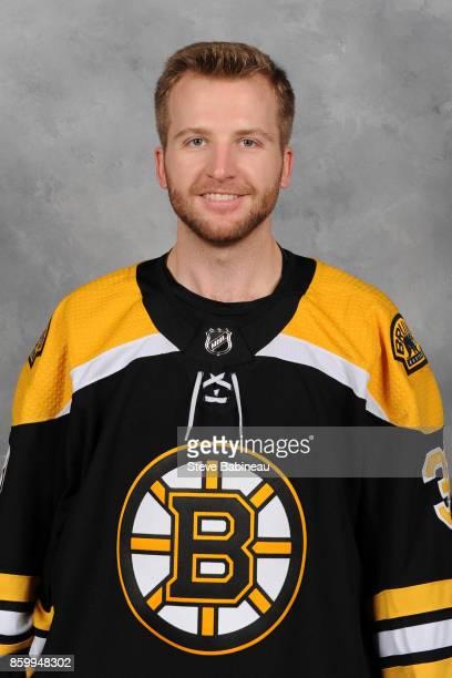Zane McIntyre of the Boston Bruins poses for his official headshot for the 20172018 season on September 16 2017 in Boston Massachusetts