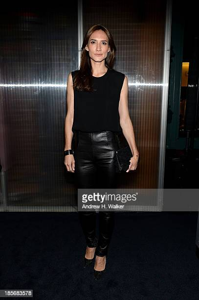 Zani Gugelmann attends PRADA Journal A Literary Contest In Collaboration With Feltrinelli Editore at the Prada Epicenter Store on October 23 2013 in...