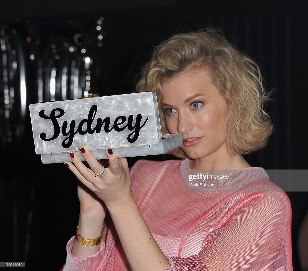 Zanita Whittington arrives at the 2015 Prix de Marie Claire Awards at Fox Studios on April 21 2015 in Sydney Australia
