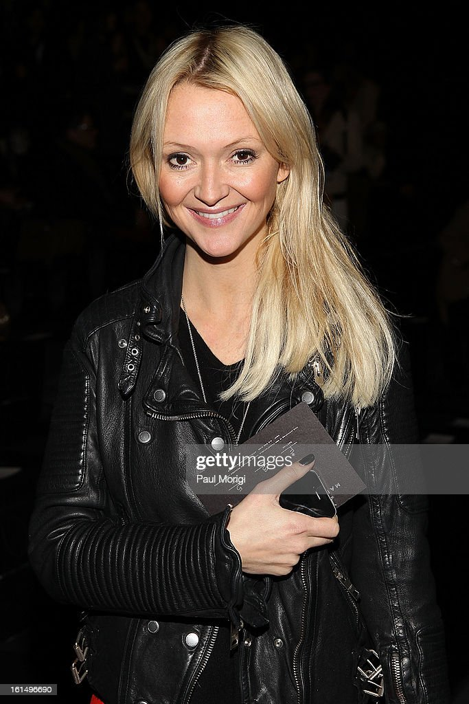 Zanna Roberts Rassi attends Marc By Marc Jacobs during Fall 2013 Mercedes-Benz Fashion Week at The Theater at Lincoln Center on February 11, 2013 in New York City.