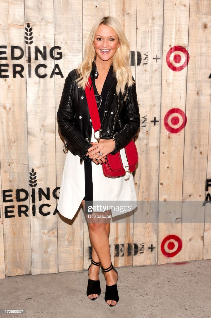 Zanna Roberts Rassi attends the Target FEED Collaboration launch at Brooklyn Bridge Park on June 19, 2013 in New York City.