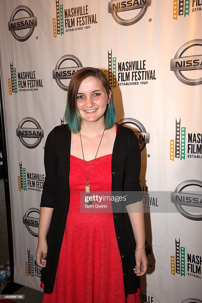 Zanny Nicholas of the film 'Undiscovered Gryl' attends day 3 of the 2014 Nashville Film Festival at Regal Green Hills on April 19, 2014 in Nashville, Tennessee.