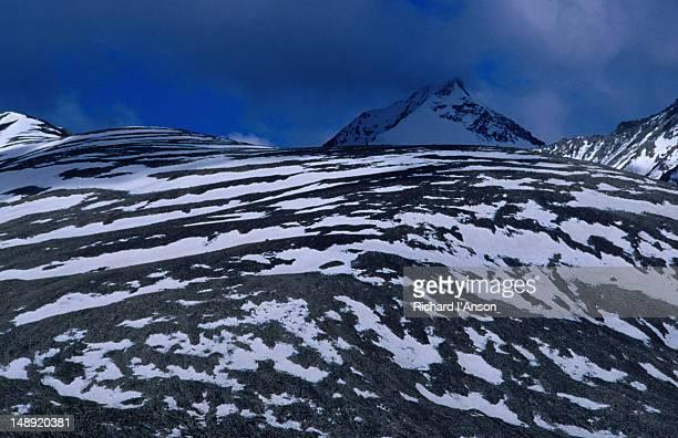Zanskar Range from Kongmaru La or pass (5150m) in Markha Valley.