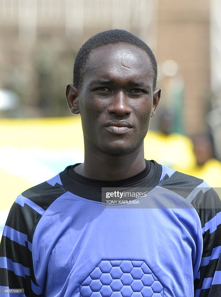 Zanzibar's Abdallah Rashid Abdallah poses ahead of the Council for East and Central Africa Football Associations (CECAFA) Cup football tournament match between South Sudan and Zanzibar in Nairobi, on November 27, 2013.