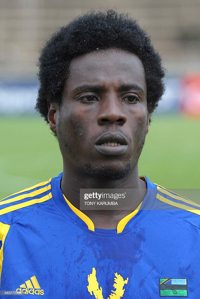 Zanzibar's Sabri Ali Makame poses ahead of the Council for East and Central Africa Football Associations (CECAFA) Cup football tournament match between South Sudan and Zanzibar in Nairobi, on November 27, 2013.