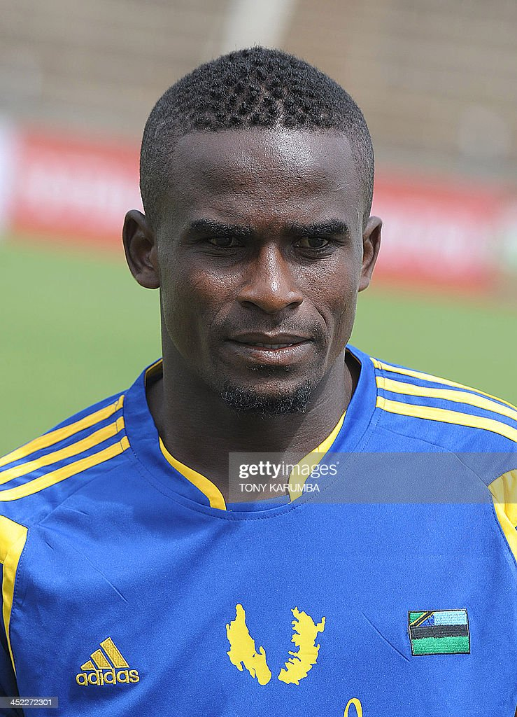 Zanzibar's Salum Khamis Bakari poses ahead of the Council for East and Central Africa Football Associations (CECAFA) Cup football tournament match between South Sudan and Zanzibar in Nairobi, on November 27, 2013.