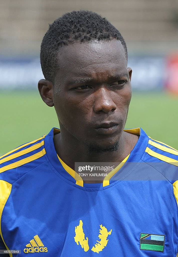 Zanzibar's Shafi Hassan Rajab poses ahead of the Council for East and Central Africa Football Associations (CECAFA) Cup football tournament match between South Sudan and Zanzibar in Nairobi, on November 27, 2013.