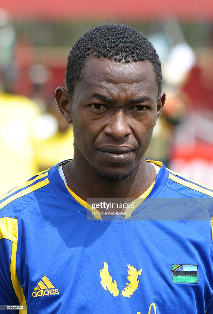 Zanzibar's Wazirsalim Omar looks on ahead of the Council for East and Central Africa Football Associations (CECAFA) Cup football tournament match between South Sudan and Zanzibar in Nairobi, on November 27, 2013.
