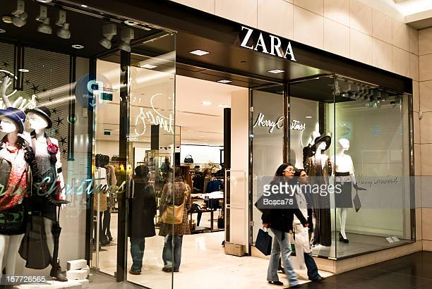Zara fashion retail store in Belgium, Brussels